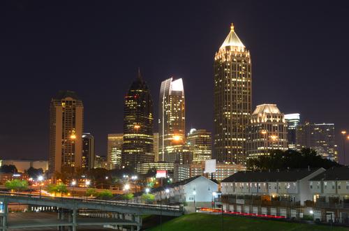 Skyscrapers in Midtown Atlanta